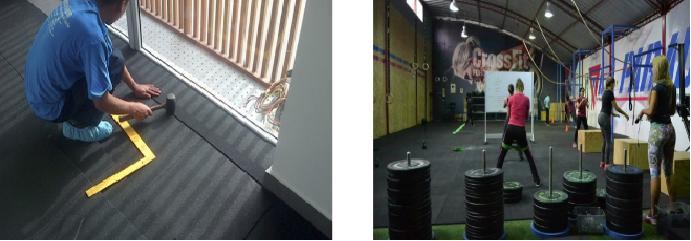 Zaneco solutions alfombras antifatiga y antideslizante - Baldosas de caucho ...